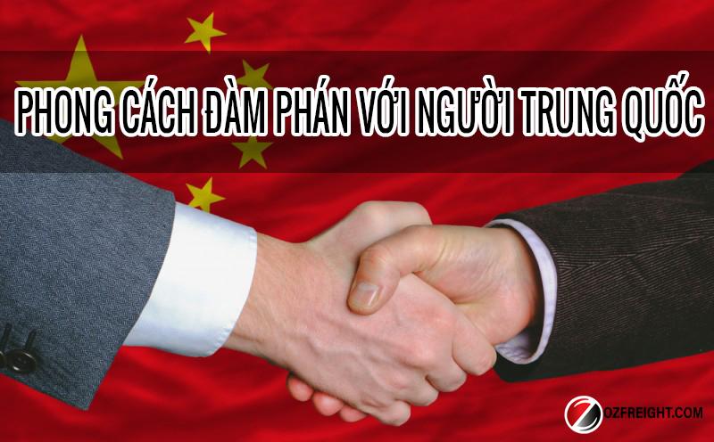 Phong cách đàm phán với người Trung Quốc